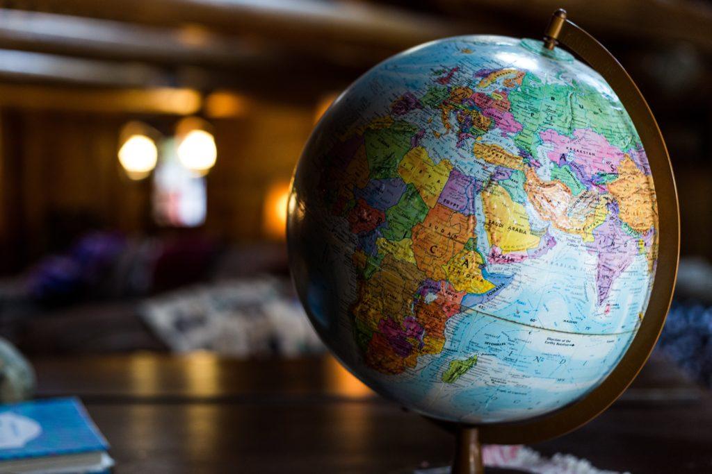 Globe - a world of three zeros