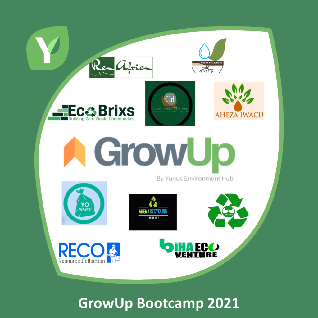 GrowUp Bootcamp finalists