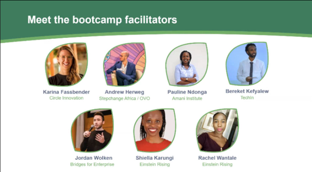 GrowUp Bootcamp Facilitators